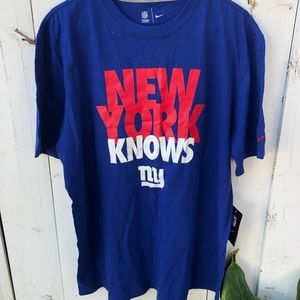 New York blue tshirt. New with tag in size XL.
